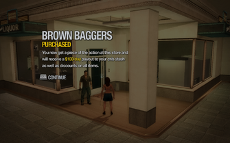 Brown Baggers in Tidal Spring purchased in Saints Row 2