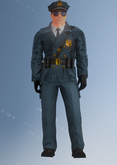 Cop - Iory - character model in Saints Row IV