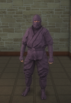 Gang Customization - Ninjas - male soldier 2 - white