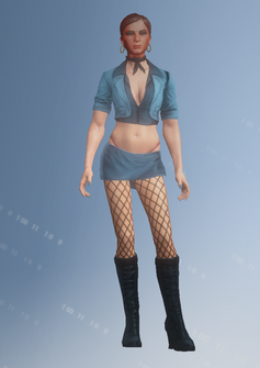 Ho05 - Lisa2 - character model in Saints Row IV