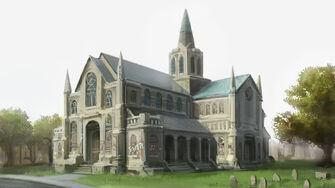 Saints Row Church - Concept Art