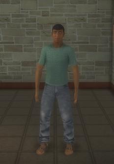 Sportsfan - black generic - character model in Saints Row 2