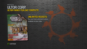 Ultor Family Fun Day - rewards - Unlimited Rockets