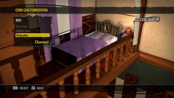 University Loft - Crib Customization - Bed - King size