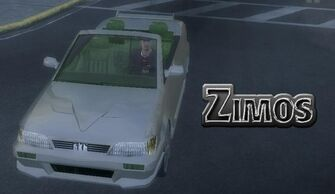 Zimos - front left with logo
