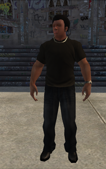 Bouncer - Black Security - character model in Saints Row