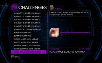 Challenge 16 On-Foot Mayhem Silver Medals