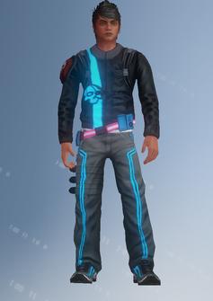 Deckers - Steven - character model in Saints Row IV