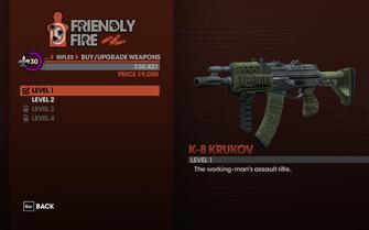 K-8 Krukov level 1 description
