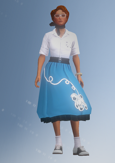 Kinzie - 50s - character model in Saints Row IV