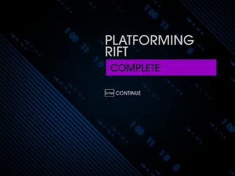 Platforming Rift complete