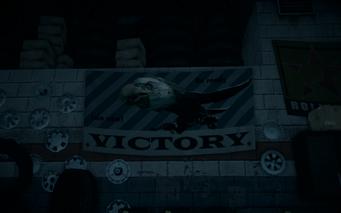 Saints Row IV - Rim Jobs interior - Screaming Eagle poster