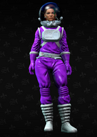 Shaundi spacesuit - character model in Saints Row The Third