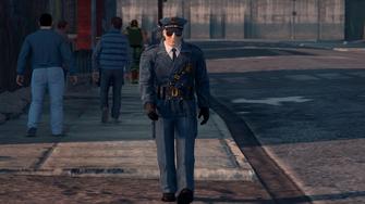 Steelport Police officer - front