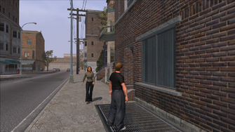 The Streets of Stilwater - view west out of cutscene