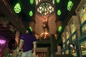 3 Count Casino - Killbane and Angel statue