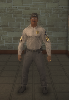 Barney - character model in Saints Row 2
