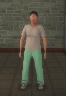 Doctor - scrubs generic asian Female - character model in Saints Row 2