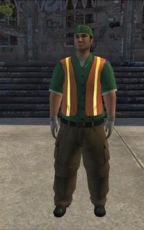 Garbageman - whiteGN - character model in Saints Row