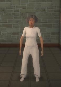 Patient - hispanic female - character model in Saints Row 2