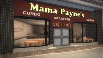 Rounds Square Shopping Center - Mama Payne's Cajun Cafe