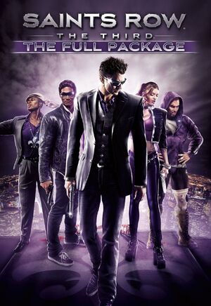 Saints Row The Third The Full Package box art