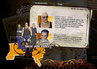 Saints Row promo website - Joseph