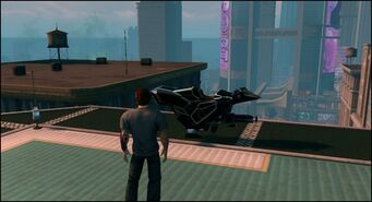 Ultor Interceptor - parked on Saints Row The Third