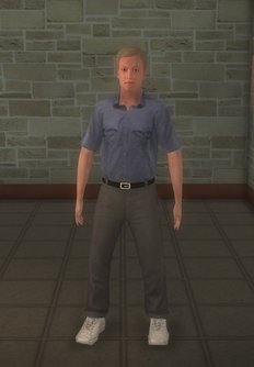 EMT - white generic male - character model in Saints Row 2