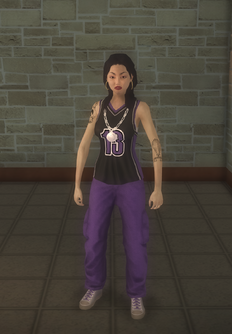 Gang Customization - Sporty - female lieutenant - asian