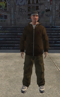 Generic young male 01 - WRSuburbsCarMechanic - character model in Saints Row