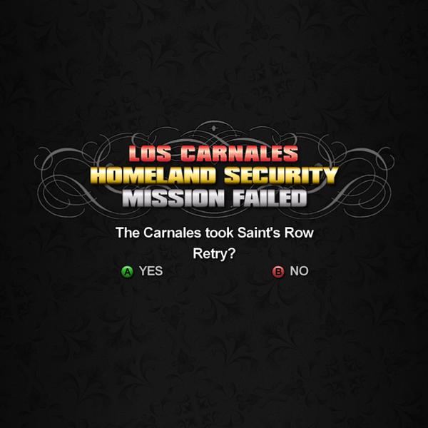 Homeland Security fail - The Carnales took Saint's Row