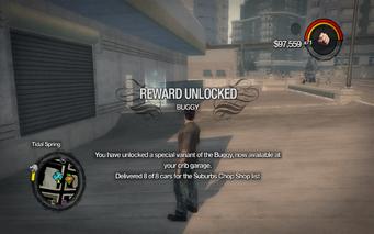 Mongoose Buggy unlocked in Saints Row 2