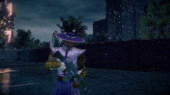 Pierce - Super Saint outfit with Shokolov AR
