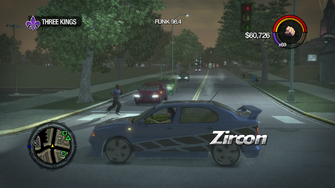 Zircon - with decal - left in Saints Row 2