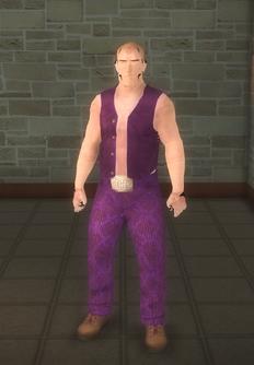Broken NPC - saint male lt - character model in Saints Row 2