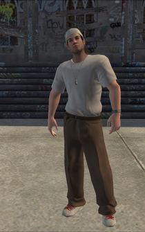 Columbians-02 - white - character model in Saints Row