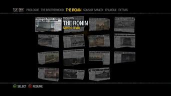 Newspaper Clipboard - The Ronin