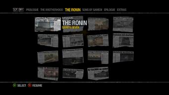 Newspaper Clipboard - The Ronin