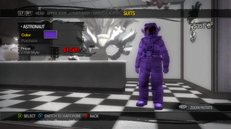 Suits - Astronaut - recoloured
