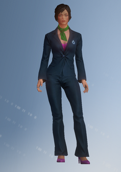 Tammy Tolliver - character model in Saints Row IV