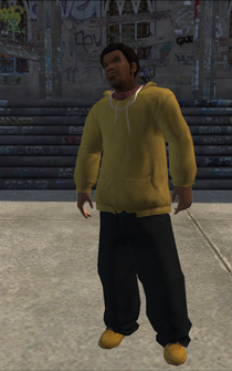 Vice Kings male THUG1-02 - Black fro - character model in Saints Row
