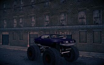 Bootlegger XL - front right at night in Saints Row IV