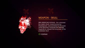 Gat out of Hell - Weapon - Skull unlocked