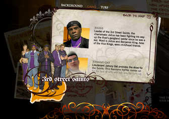 Saints Row promo website - Julius