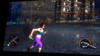 Satchel Charges in hand in Saints Row The Third