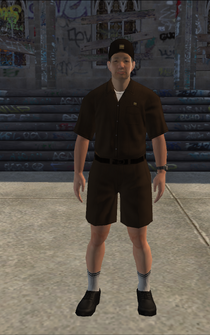 UPS - asianUPS - character model in Saints Row