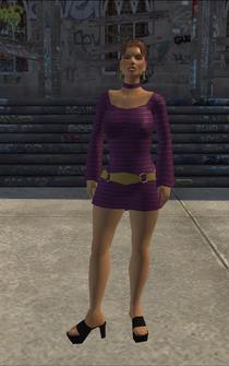HO-01 - Ho - character model in Saints Row