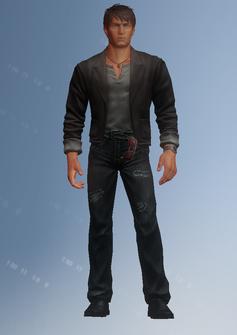 Josh Birk - character model in Saints Row IV