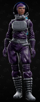 SRTT Outfit - intergalactic man (female)